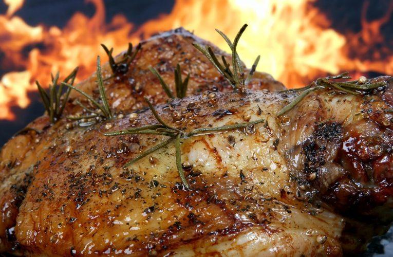 Gazowy grill do gastronomii