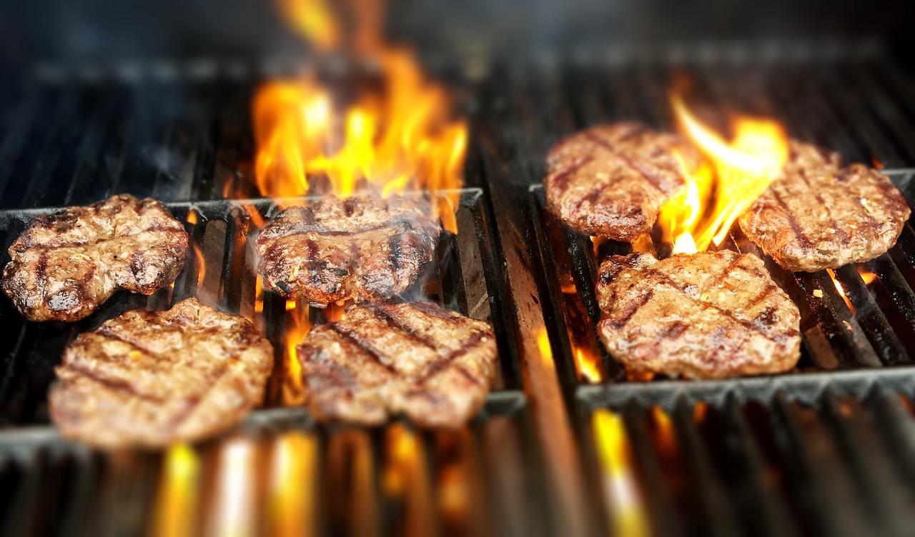Gazowy grill w lokalu gastronomicznym